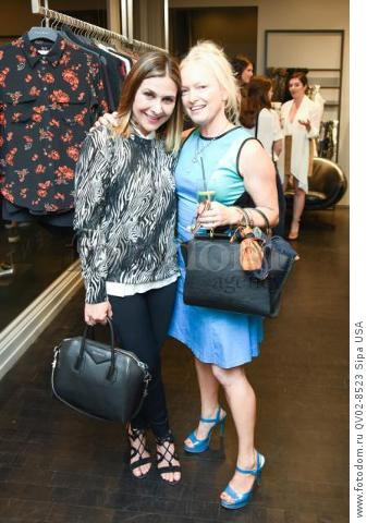 Marjan DiPiazza, Lulu Powers - 10/21/2015 - Los Angeles, California - EQUIPMENT & VOGUE WITH LIZ GOLDWYN held at Equipment Boutique, Los Angeles,. (Photo by Owen Kolasinski/BFA) *** Please Use Credit from Credit Field ***