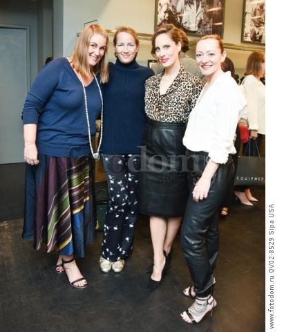 Erin Farr, Susan Plagemann, Liz Goldwyn, Kim Fasting-Berg - 10/21/2015 - Los Angeles, California - EQUIPMENT & VOGUE WITH LIZ GOLDWYN held at Equipment Boutique, Los Angeles,. (Photo by Owen Kolasinski/BFA) *** Please Use Credit from Credit Field ***