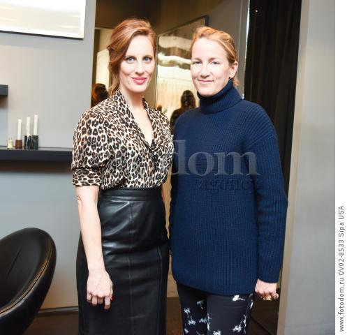 Liz Goldwyn, Susan Plagemann - 10/21/2015 - Los Angeles, California - EQUIPMENT & VOGUE WITH LIZ GOLDWYN held at Equipment Boutique, Los Angeles,. (Photo by Owen Kolasinski/BFA) *** Please Use Credit from Credit Field ***