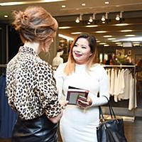 Liz Goldwyn, Xixi Yang - 10/21/2015 - Los Angeles,