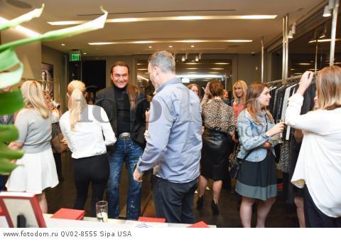 Nick Chavez, Sean Fay - 10/21/2015 - Los Angeles, California - EQUIPMENT & VOGUE WITH LIZ GOLDWYN held at Equipment Boutique, Los Angeles,. (Photo by Owen Kolasinski/BFA) *** Please Use Credit from Credit Field ***