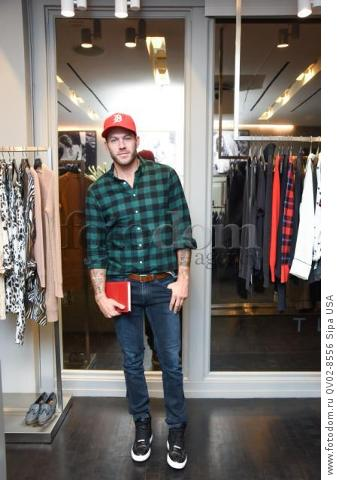 Johnny Wujek - 10/21/2015 - Los Angeles, California - EQUIPMENT & VOGUE WITH LIZ GOLDWYN held at Equipment Boutique, Los Angeles,. (Photo by Owen Kolasinski/BFA) *** Please Use Credit from Credit Field ***