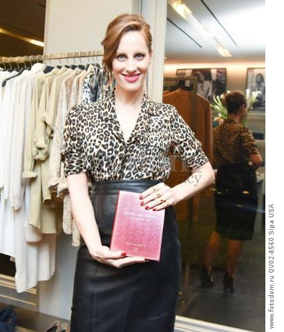 Liz Goldwyn - 10/21/2015 - Los Angeles, California - EQUIPMENT & VOGUE WITH LIZ GOLDWYN held at Equipment Boutique, Los Angeles,. (Photo by Owen Kolasinski/BFA) *** Please Use Credit from Credit Field ***