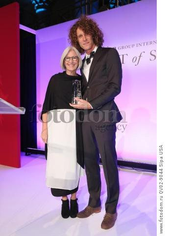 Eileen Fisher, Andrew Morgan - 10/22/2015 - New York, New York - THE FASHION GROUP INTERNATIONAL: 31ST ANNUAL NIGHT OF STARS held at Cipriani, NYC. (Photo by Matteo Prandoni/BFA) *** Please Use Credit from Credit Field ***