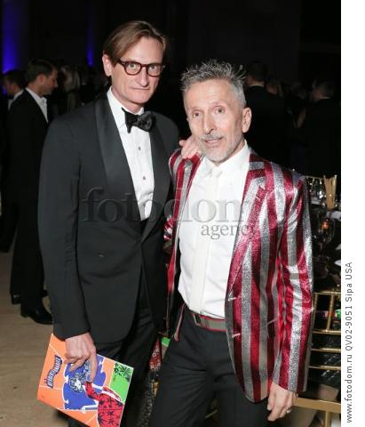 Hamish Bowles, Simon Doonan - 10/22/2015 - New York, New York - THE FASHION GROUP INTERNATIONAL: 31ST ANNUAL NIGHT OF STARS held at Cipriani, NYC. (Photo by Matteo Prandoni/BFA) *** Please Use Credit from Credit Field ***