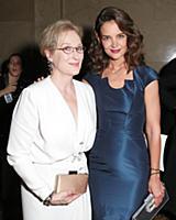 Meryl Streep, Katie Holmes - 10/22/2015 - New York