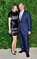 Lizzie Rudnick and Jonathan Tisch attend the 12th