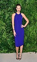 Model Toni Garnn attends the 12th Annual CFDA/Vogu