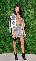 Model Chanel Iman attends the 12th Annual CFDA/Vog