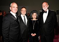 Azriel Biblowitz, Doris Salcedom, Richard Armstron