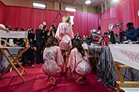 Backstage at the 2015 New York VictoriaХs Secret F