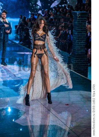 Izabel Goulart on the runway during the 2015 New York Victoria?s Secret Fashion Show held at the Lexington Armory in New York City on November 10, 2015. (Photo by Anthony Behar) *** Please Use Credit from Credit Field *** *** Please Use Credit from Credit Field ***