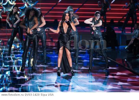 Selena Gomez on the runway during the 2015 New York Victoria?s Secret Fashion Show held at the Lexington Armory in New York City on November 10, 2015. (Photo by Anthony Behar) *** Please Use Credit from Credit Field *** *** Please Use Credit from Credit Field ***