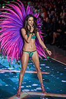 Alessandra Ambrosio on the runway during the 2015