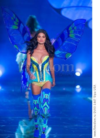 Daniela Braga on the runway during the 2015 New York Victoria?s Secret Fashion Show held at the Lexington Armory in New York City on November 10, 2015. (Photo by Anthony Behar) *** Please Use Credit from Credit Field *** *** Please Use Credit from Credit Field ***