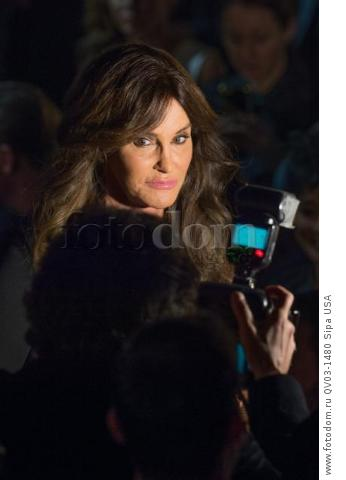 Caitlyn Jenner on the runway during the 2015 New York VictoriaХs Secret Fashion Show held at the Lexington Armory in New York City on November 10, 2015. (Photo by Anthony Behar) *** Please Use Credit from Credit Field *** *** Please Use Credit from Credit Field ***