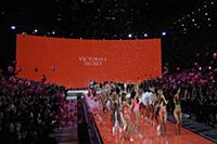 Finale on the runway during the 2015 New York Vict