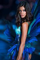 Sara Sampaio on the runway during the 2015 New Yor