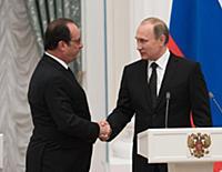 Визит Франсуа Олланда в Россию