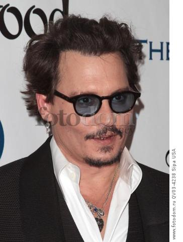 Johnny Depp attends tThe Art of Elysium's Ninth Annual Heaven Gala held at 3LABS in Los Angeles, CA on January 9th, 2016. (Photo by Adam Orchon) *** Please Use Credit from Credit Field ***