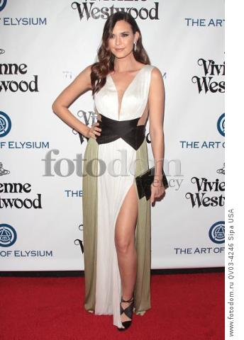 Odette Annable attends tThe Art of Elysium's Ninth Annual Heaven Gala held at 3LABS in Los Angeles, CA on January 9th, 2016. (Photo by Adam Orchon) *** Please Use Credit from Credit Field ***