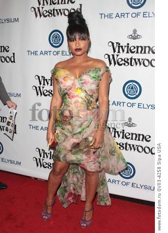 Christina Milian attends tThe Art of Elysium's Ninth Annual Heaven Gala held at 3LABS in Los Angeles, CA on January 9th, 2016. (Photo by Adam Orchon) *** Please Use Credit from Credit Field ***