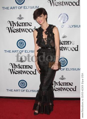 Paz Vega attends tThe Art of Elysium's Ninth Annual Heaven Gala held at 3LABS in Los Angeles, CA on January 9th, 2016. (Photo by Adam Orchon) *** Please Use Credit from Credit Field ***