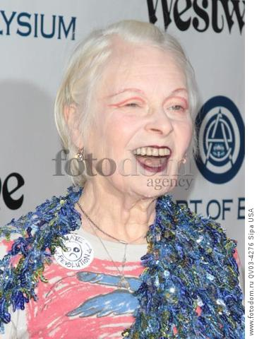 Vivienne Westwood attends tThe Art of Elysium's Ninth Annual Heaven Gala held at 3LABS in Los Angeles, CA on January 9th, 2016. (Photo by Adam Orchon) *** Please Use Credit from Credit Field ***