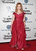 Christina Hendricks attends tThe Art of Elysium's
