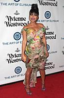 Christina Milian attends tThe Art of Elysium's Nin