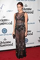 Ashley Tisdale attends tThe Art of Elysium's Ninth