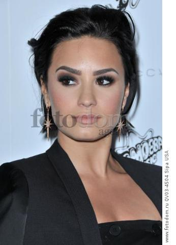 Demi Lovato arrives at the Stella McCartney Autumn 2016 Presentation held at Amoeba Music in Los Angeles, CA on Tuesday, January 12, 2016. (Photo By Sthanlee B. Mirador) *** Please Use Credit from Credit Field ***