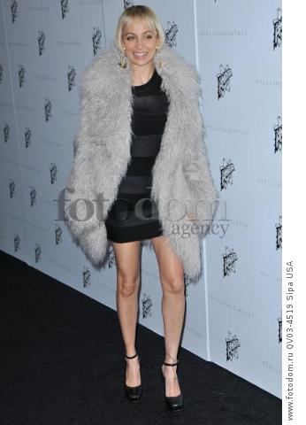 Nicole Richie arrives at the Stella McCartney Autumn 2016 Presentation held at Amoeba Music in Los Angeles, CA on Tuesday, January 12, 2016. (Photo By Sthanlee B. Mirador) *** Please Use Credit from Credit Field ***