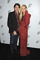 Rodger Berman, Rachel Zoe wearing Stella McCartney