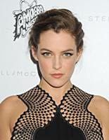 Riley Keough wearing Stella McCartney attends the
