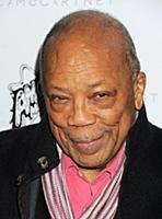 Quincy Jones wearing Stella McCartney attends the