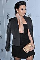 Demi Lovato arrives at the Stella McCartney Autumn