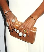 Mary J. Blige wearing Stella McCartney attends the