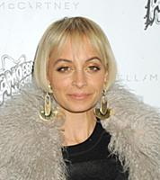 Nicole Richie wearing Stella McCartney attends the