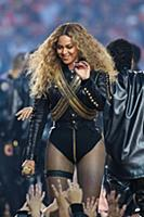 Beyonce performs during the halftime show at Super