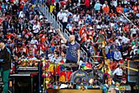 Will Champion of Coldplay performs during the half