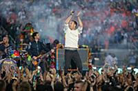 Coldplay band members Will Champion, Guy Berryman