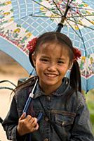 (5/30/2017)  Portrait of a Hmong girl at the villa