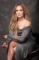Студийная фотосессия актрисы и певицы Дженнифер Лопес
