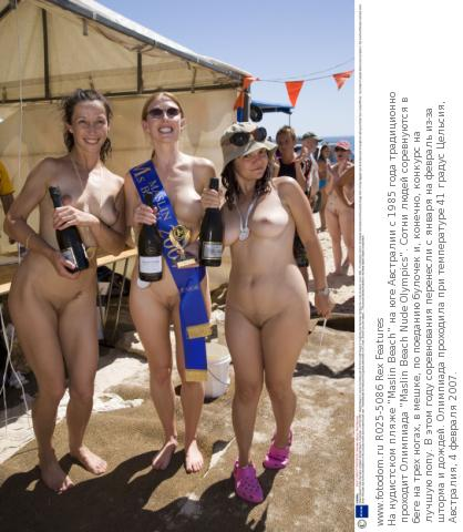 Nude olympics maslins