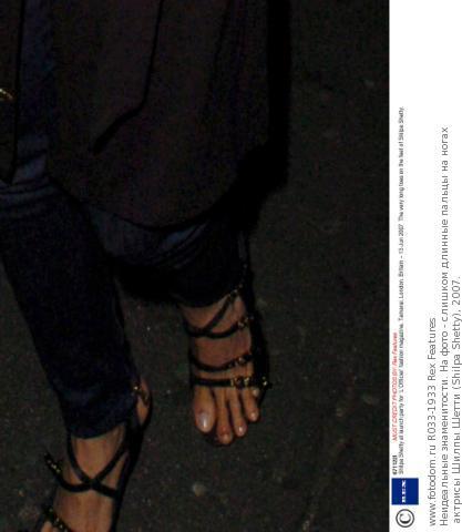 Ногах актрисы шилпы шетти shilpa shetty 2007