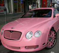 Гламурный автомобиль для Пэрис Хилтон
