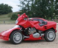'Snaefell' - стильный гибрид мото и авто