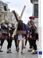 Страсти Христовы на Трафальгарской площади