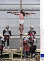 В Страстную Пятницу на Трафальгарской площади в Ло